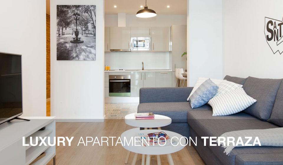 Luxury apartment con terraza